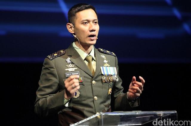 Diusung Jadi Cagub DKI, Mayor Inf. Agus Harimutri Yudhoyono Disarankan Segera Mundur dari TNI