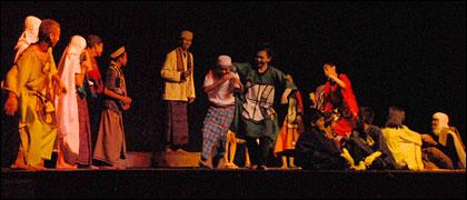 Pengertian dan  Unsur Unsur Pagelaran Teater  Bacangan