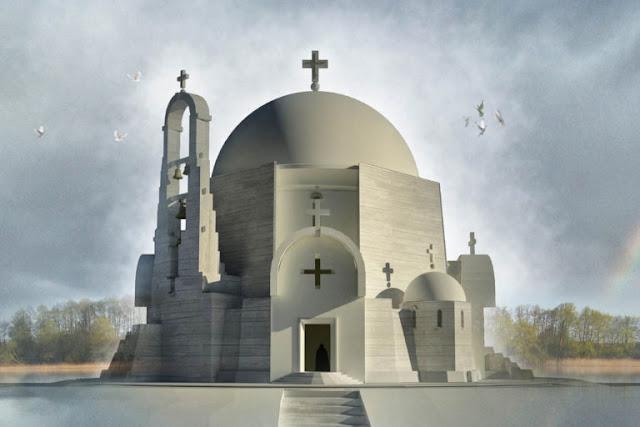Модернизм в строительстве храмов МП на белорусской земле