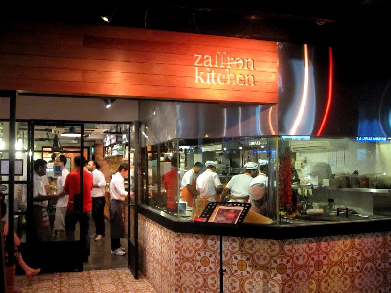 Zaffron Kitchen Singapore Menu