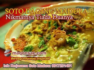 Resep Asli Soto Daging Madura