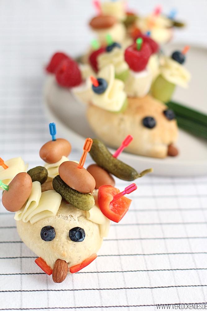Pausenbrot Ideen für Kinder Schule Essen