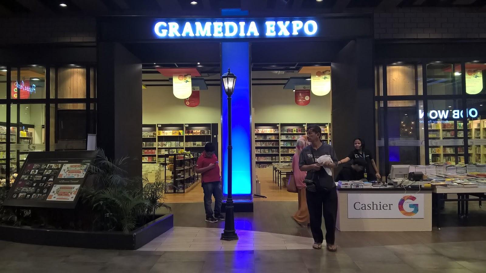 Gramedia Expo Mal AEON Garden City