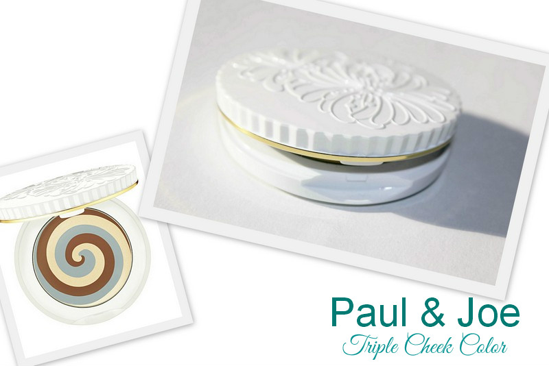 "Отзыв: ""Шоколадно-мятные"" румяна Paul & Joe Triple Cheek Color #003 Chocolate Mint Gelato."