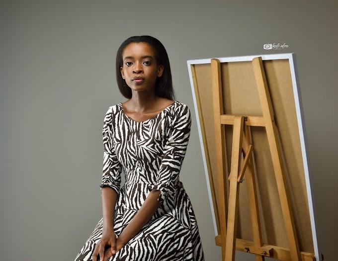 Meet Cindy Ayim, A Medical Student Who Moonlights As An Artist