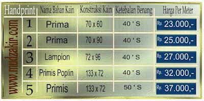 Grosir Kain batik di Bogor jenis printing sudah dengan mesin pabrik