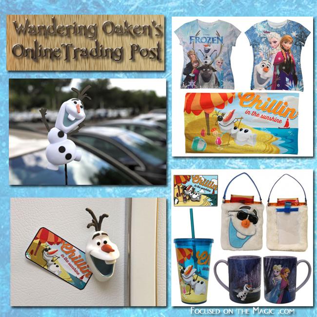 Frozen merchandise Disney Store