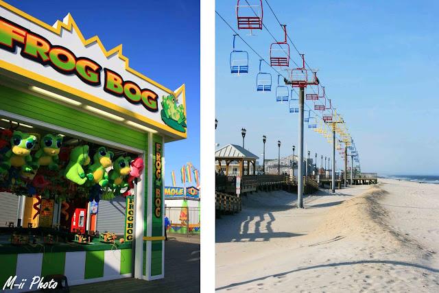 M-ii Photo : Le long de la côte du New Jersey : Seaside Heights