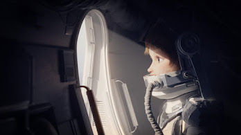 Astronaut, Girl, Digital Art, 4K, #4.618