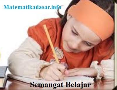 Ilustrasi seorang anak sedang belajar