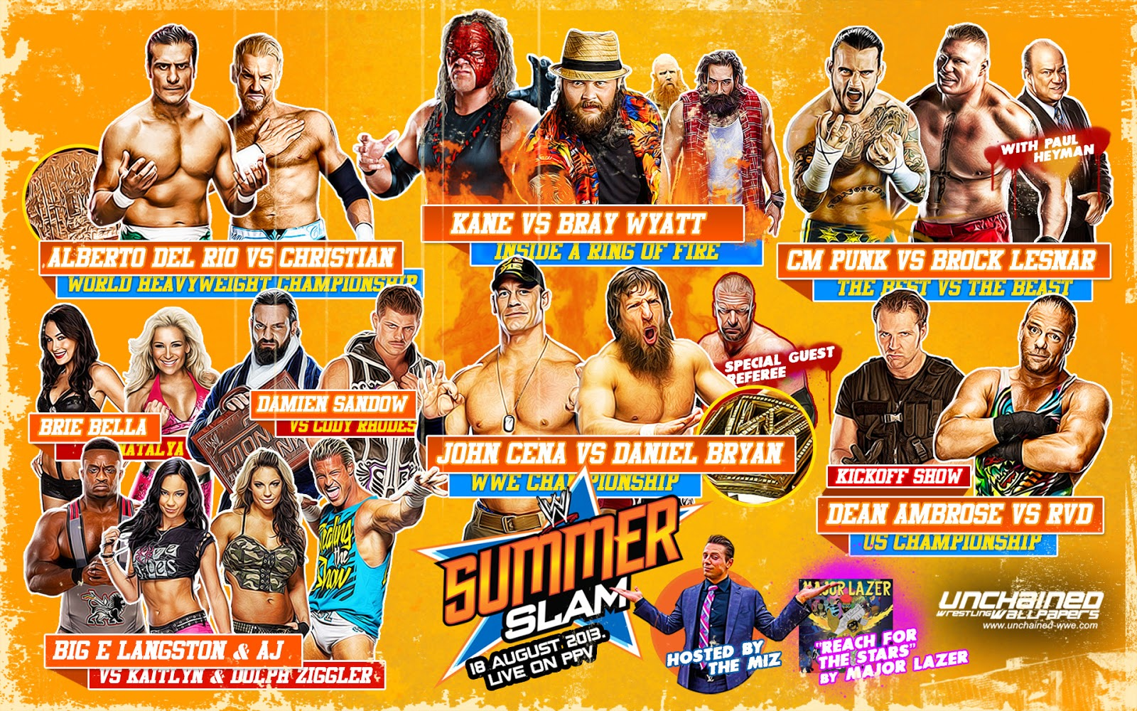 Across The Pond Wrestling: WWE SummerSlam 2013 Review