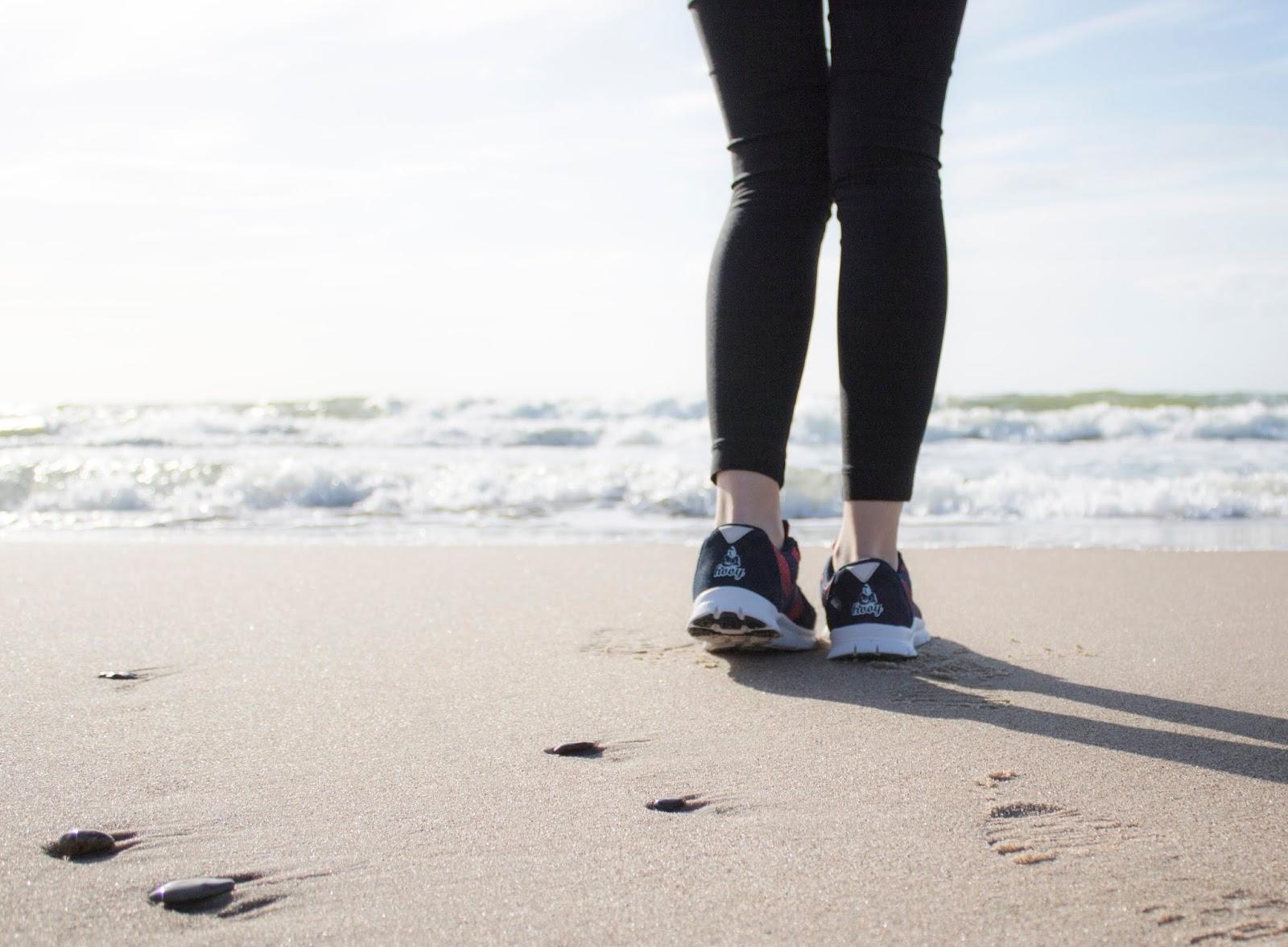 Relaksujące spacery po plaży!
