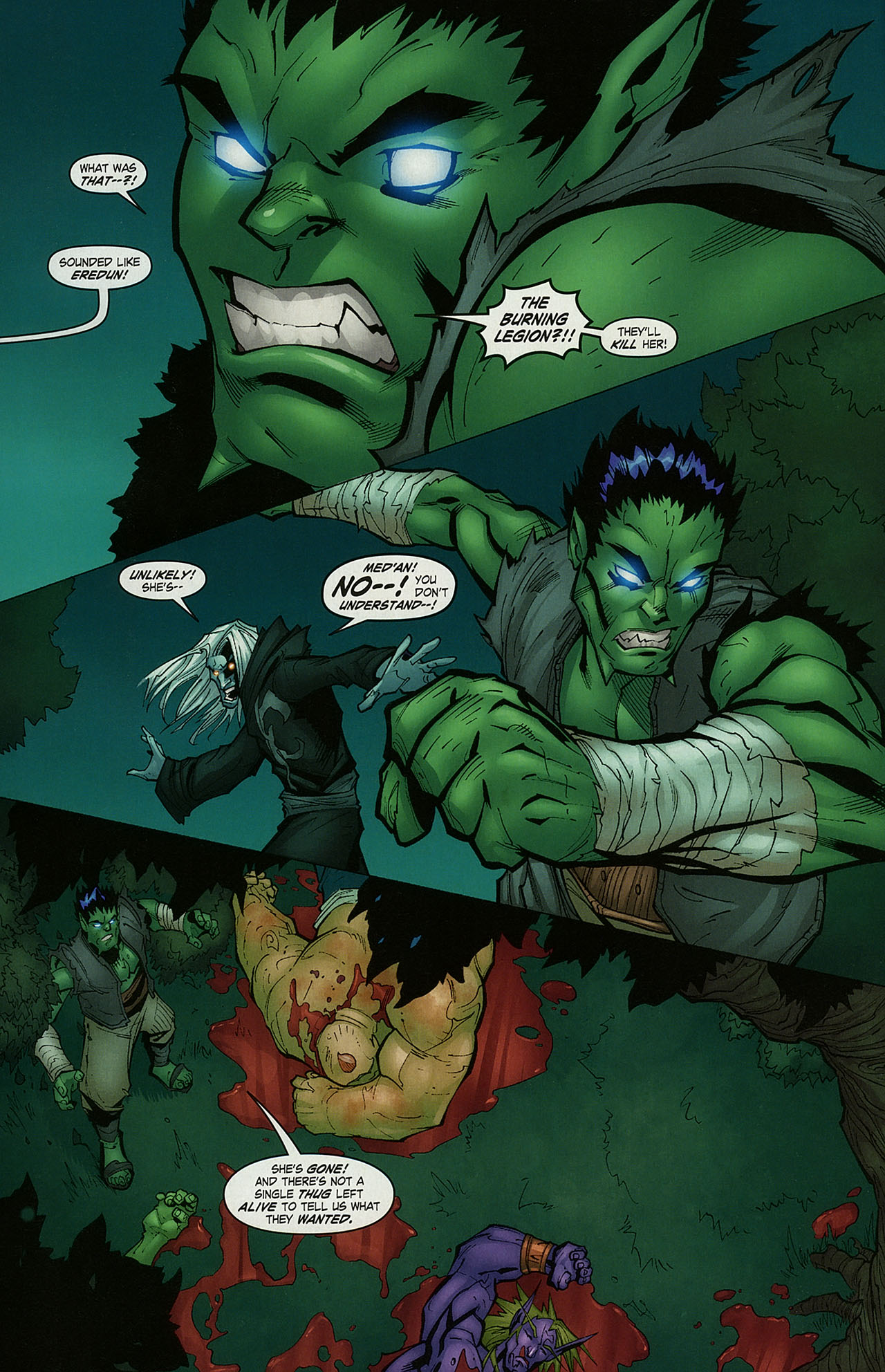 Read online World of Warcraft comic -  Issue #15 - 16