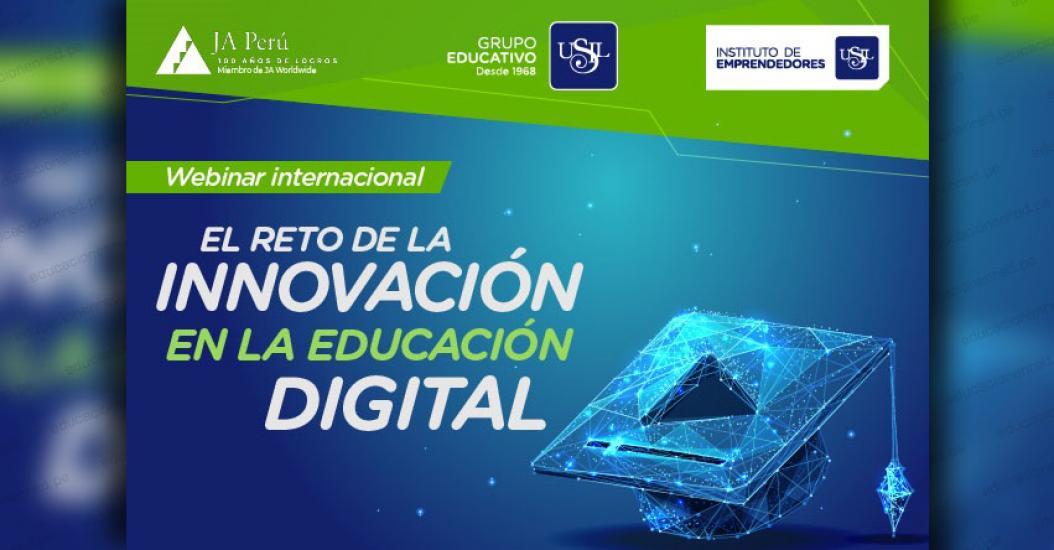 WEBINAR INTERNACIONAL: El reto de la innovación en la educación digital