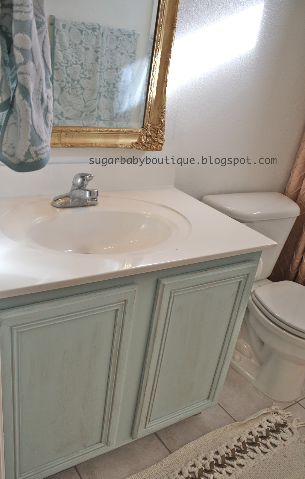 Sugar Baby Boutique Elegant Bathroom Makeover