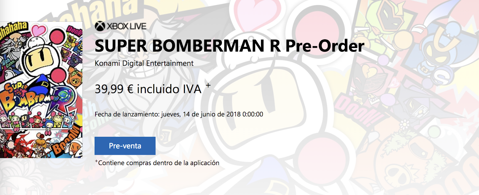 Se confirma Super Bomberman R para Xbox One, PlayStation y ordenadores, el 14 de junio