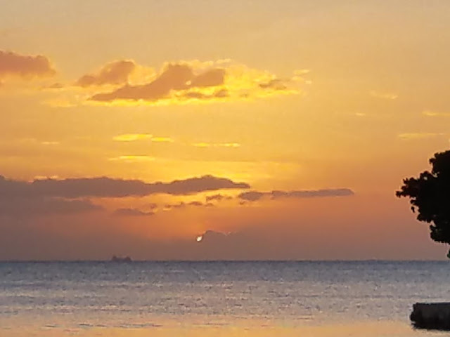 negril jamaica sunset