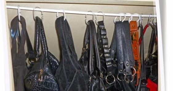le blog de sylvie astuce brico pour ranger ses sacs main. Black Bedroom Furniture Sets. Home Design Ideas