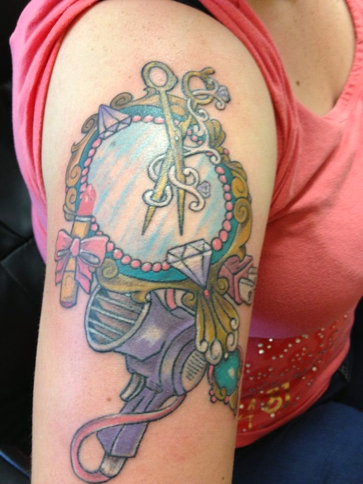 Tattoo Ideas For Hairdressers The Haircut Web