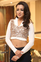 Catherine Tresa in a White Glittering Crop Top Black Leggings  Exclusive 026.JPG