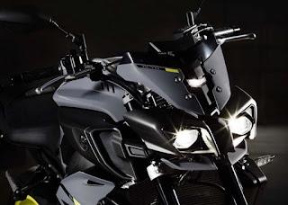 adalah salah satu model naked dari motor fairing yamaha R Motor Yamaha MT 10 Versi Naked R1