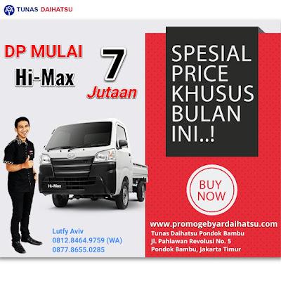 Promo Daihatsu Himax Spesial Akhir Tahun 2017