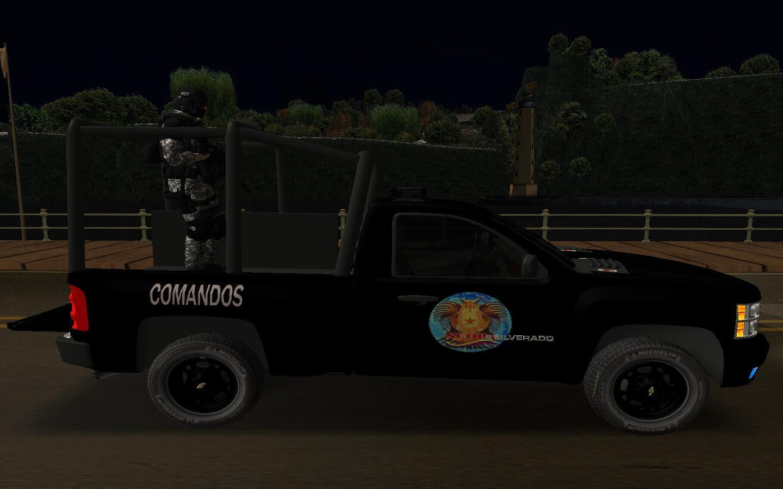 Comandos motorizados del sebin