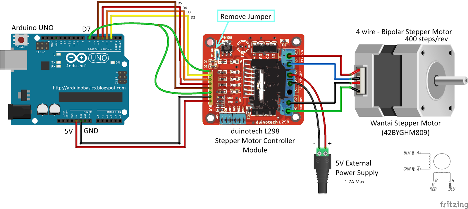 Posts with arduino uno label for Motor driver for arduino