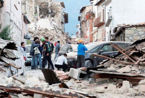 Σοκάρει ο αριθμός των νεκρών από τον φονικό σεισμό στην Ιταλία!