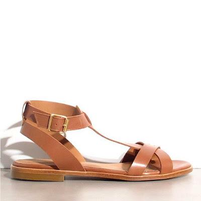 Sandales Rivecour cuir