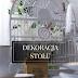 ŚLUBNE DEKORACJE: ślubny stół z odrobiną złota i french chic