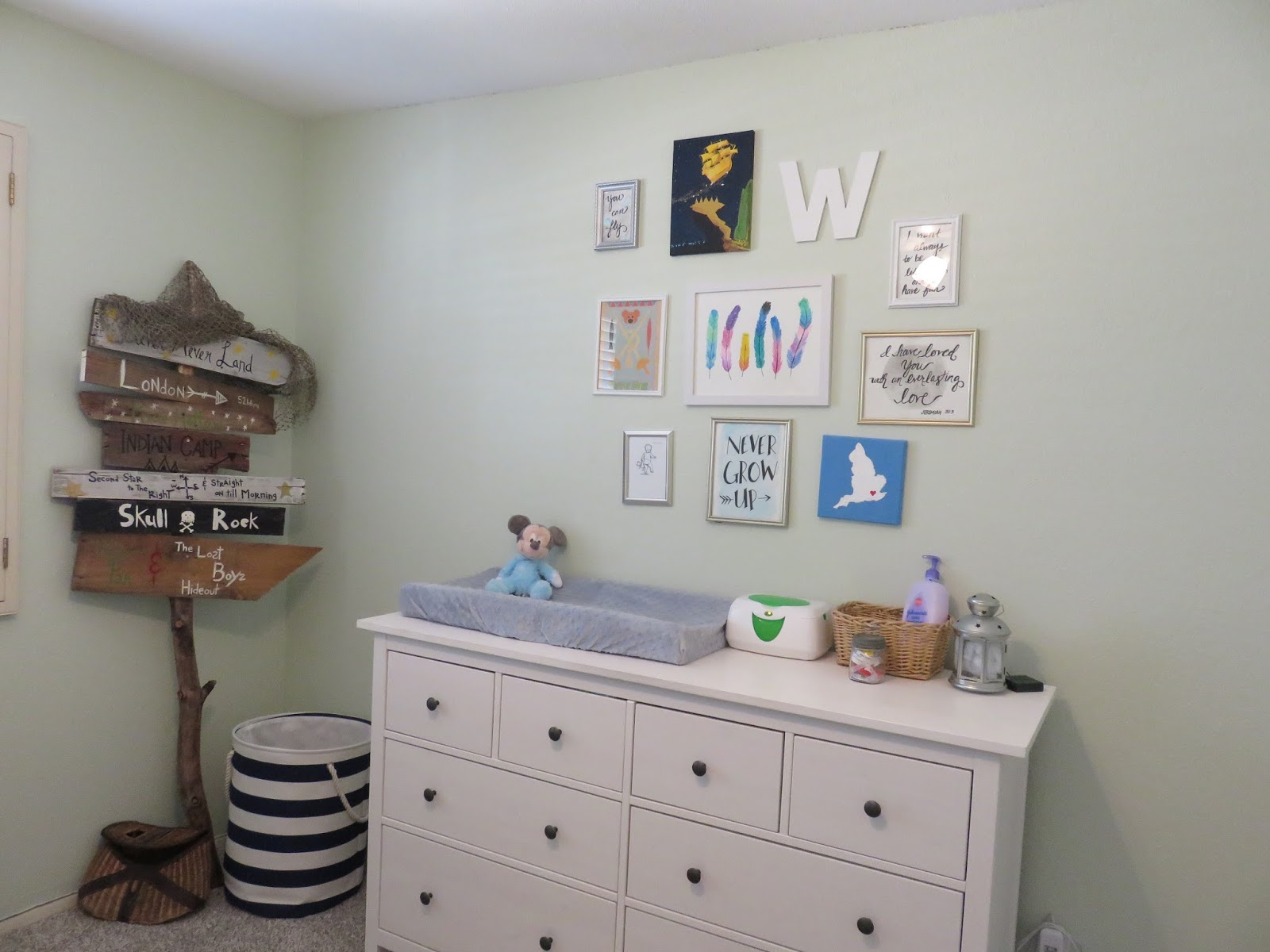 It Is Seriously The Perfect Changing Table To So Much Storage. Aaron And I  Actually Got The Same Piece In Dark Brown Wood For Our Bedroom Because We  Loved ...