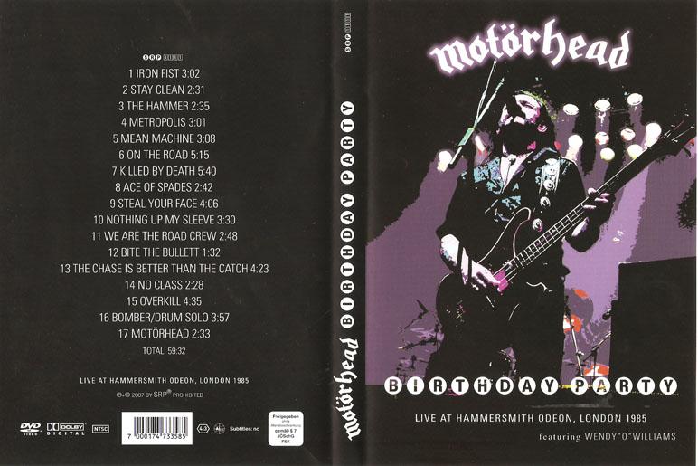 Deer5001RockCocert : Motorhead - Birthday Party Live At