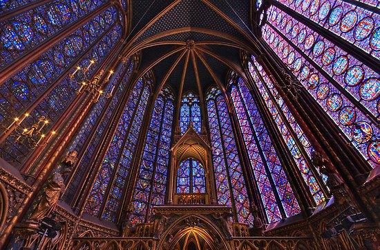 Saint Chapelle, Ille de France, París - Vidrieras