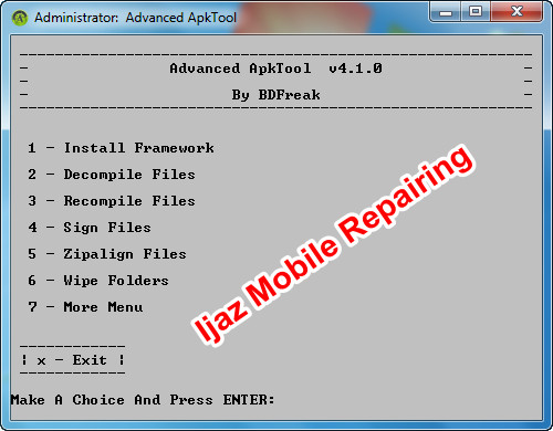 Advanced Apk Tool Download Free - Ijaz Mobile Repairing