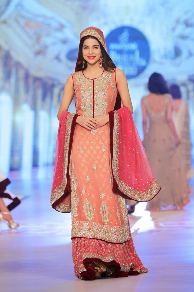 Pakistani Fashion Collection Online Rani Emaan Bridal Collection At Pantene Bridal Couture Week 2014