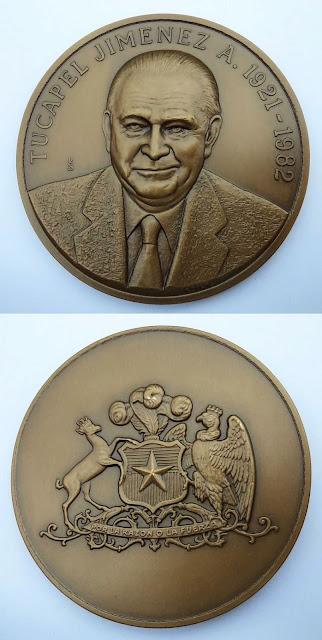 Medalla Tucapel Jimenez ANEF