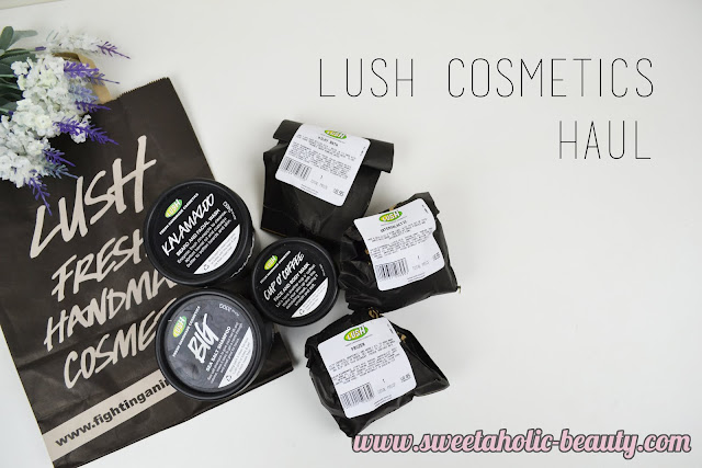 Lush Cosmetics Haul - Sweetaholic Beauty