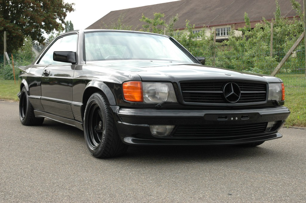 1985 mercedes benz c126 500 sec amg benztuning. Black Bedroom Furniture Sets. Home Design Ideas