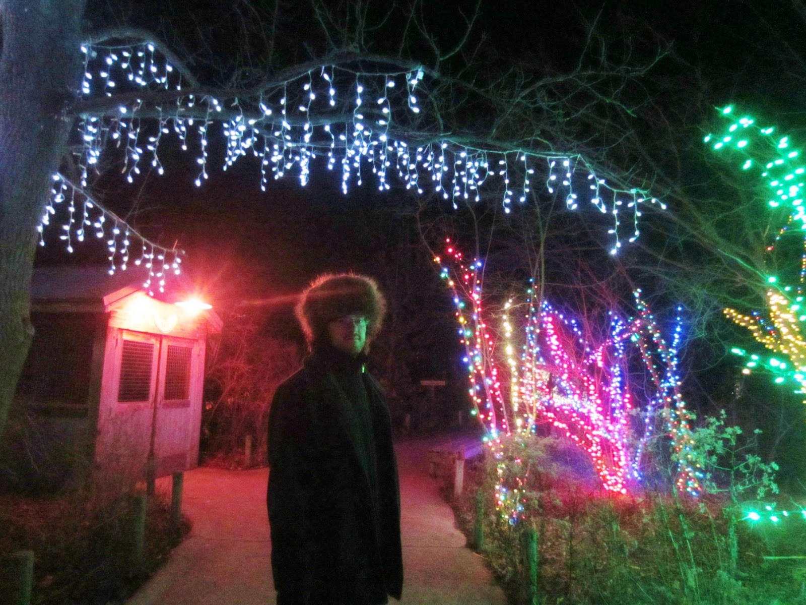 Columbus Ohio Zoo Lights