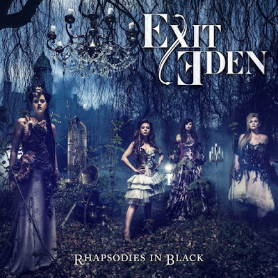 "Exit Eden - ""Paparazzi"" (Lady Gaga cover) from the album ""Rhapsodies In Black"""