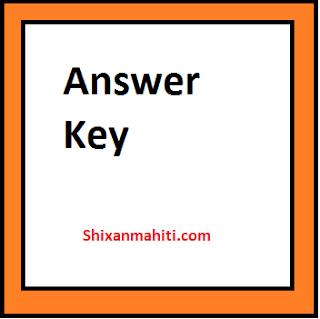 Samaj Kalyan Adhikari Final Answer Declared