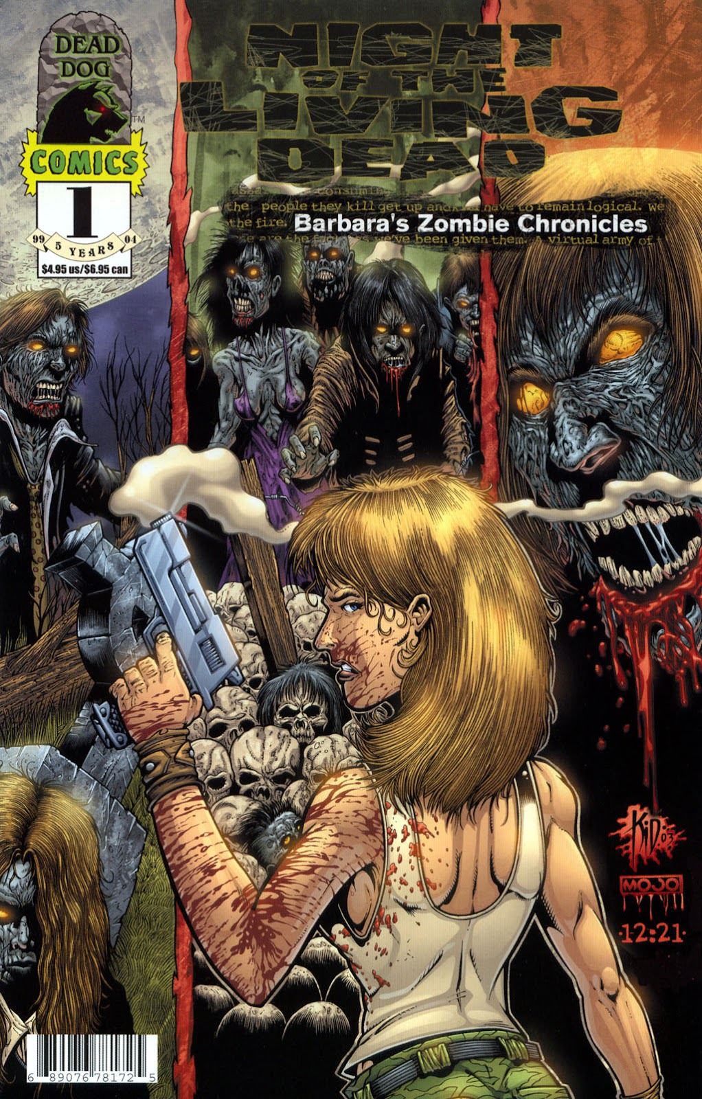 Read online Night of the Living Dead: Barbara's Zombie Chronicles comic -  Issue #1 - 1