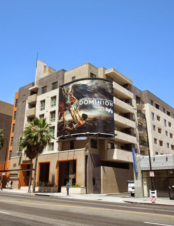 Dominion series premiere TV billboard