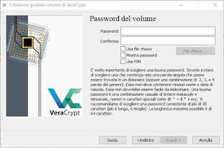 Inserimento Password