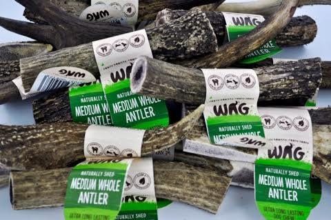 Wag-deer-antler-chews