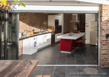 dapur terbuka sederhana