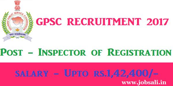 GPSC Vacancy, GPSC Online application form, Govt jobs in Gujarat