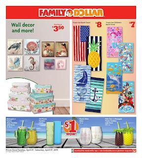 ⭐ Family Dollar Ad 4/21/19 ✅ Family Dollar Weekly Ad April 21 2019