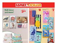 Family Dollar Ad Preview April 21 - April 27, 2019